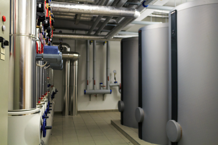 Aislamiento acústico en salas de máquinas y calderas